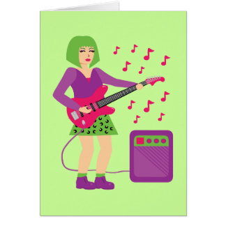 Rock Chick Card