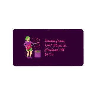 Rock Chick Label