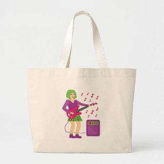 Rock Chick Large Tote Bag