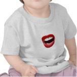 Rock Chick Lips Tshirts