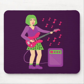 Rock Chick Mouse Pad