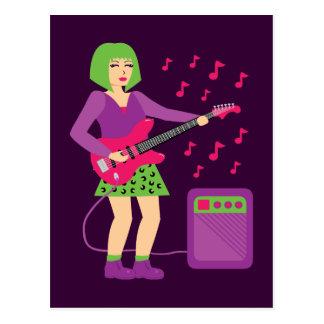 Rock Chick Postcard