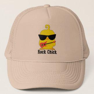 Rock chick trucker hat