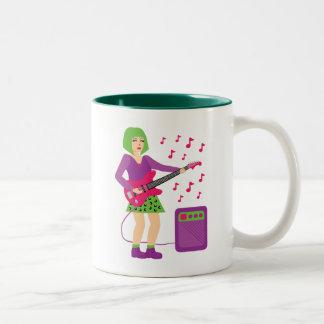 Rock Chick Two-Tone Coffee Mug