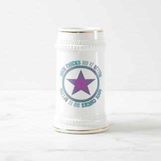 Rock Chicks Do It Better - Stein 18 Oz Beer Stein