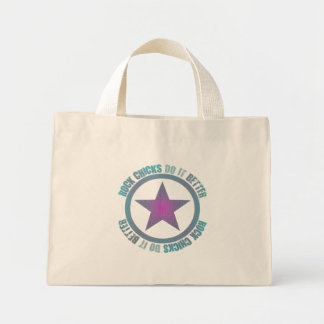 Rock Chicks Do It Better - Tiny Tote