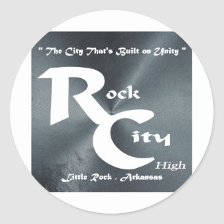 Rock City Classic Round Sticker