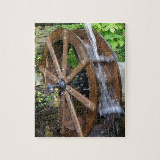 Rock City Water Wheel Jigsaw Puzzle