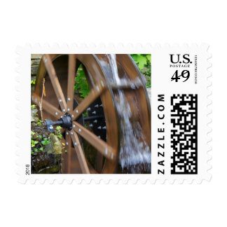 Rock City Water Wheel Postage