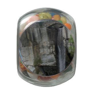 Rock City Waterfall Glass Jar