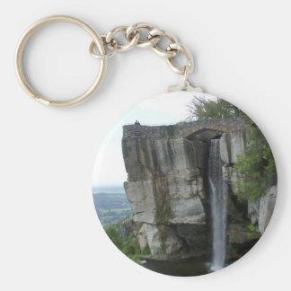 Rock City Waterfall Keychain