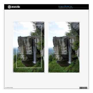 Rock City Waterfall Kindle Fire Skin