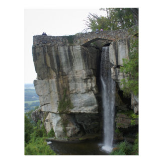 Rock City Waterfall Letterhead