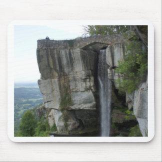 Rock City Waterfall Mouse Pad