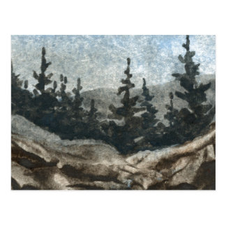 """""""Rock Cliff #3"""" Country Roads Postcard"""