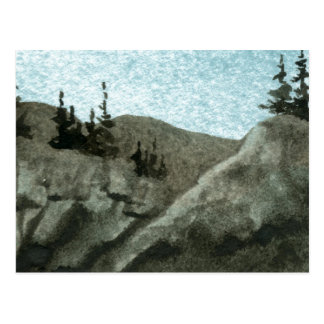 """""""Rock Cliff #5"""" Country Roads Postcard"""