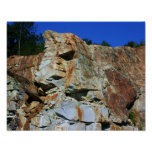 Rock Cliff Wall Nature Posters