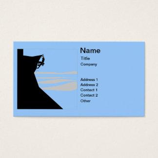 Rock Climber 1 Business Card