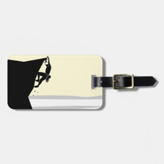 Rock Climber 1 Tag For Luggage
