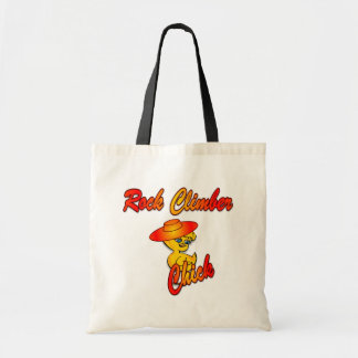 Rock Climber chick #5 Tote Bag