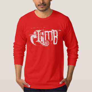 Rock Climber in the letter i in the word climb T Shirt