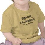 rock climber in training T shirt
