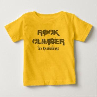 Beach Themed rock climber in training T shirt