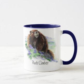 Rock Climber - Marmot - Animal Mug