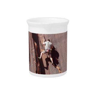 Rock Climber Drink Pitcher