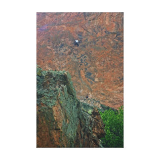 Rock Climbers Canvas Print