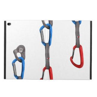 Rock Climbers Hanging Carabiner Illustration Powis iPad Air 2 Case