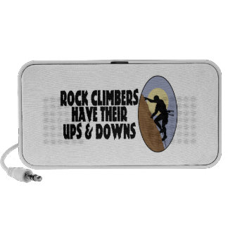 Rock Climbers Have Ups Downs Mini Speakers