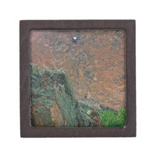 Rock Climbers Keepsake Box