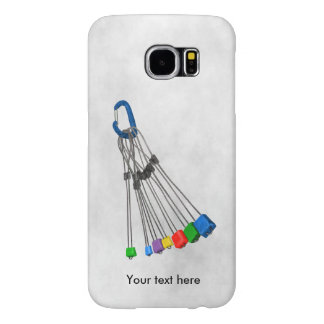 Rock Climbers Natual Protection Wires And Crab Samsung Galaxy S6 Case