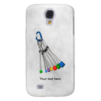 Rock Climbers Natual Protection Wires And Crab Samsung S4 Case
