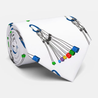Rock Climbers Natual Protection Wires And Crab Tie