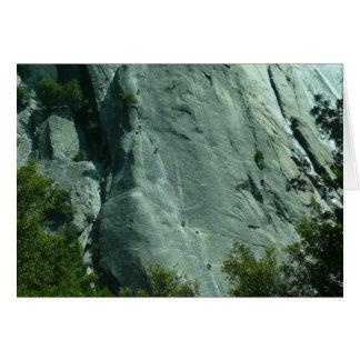 Rock Climbers on El Capitan Card