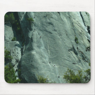 Rock Climbers on El Capitan Mouse Pad