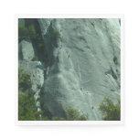 Rock Climbers on El Capitan Paper Napkin