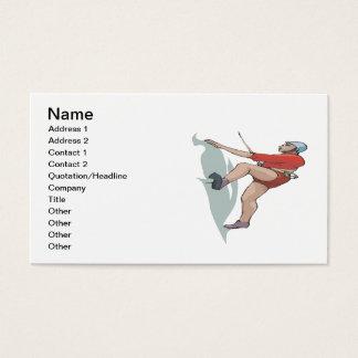 Rock Climbing 10 Business Card