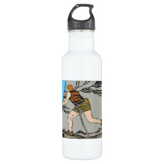 Rock Climbing 12 24oz Water Bottle