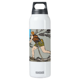 Rock Climbing 12 16 Oz Insulated SIGG Thermos Water Bottle