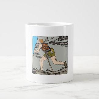 Rock Climbing 12 20 Oz Large Ceramic Coffee Mug