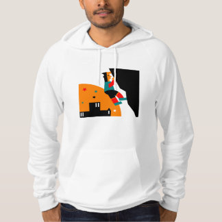 Rock Climbing Abstract Hoodie