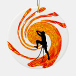 ROCK CLIMBING ARCHES CHRISTMAS ORNAMENT