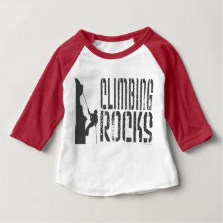 Rock Climbing Baby T-Shirt