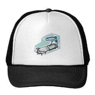 Rock Climbing Boot Trucker Hat