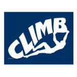 Rock Climbing Bouldering Postcard