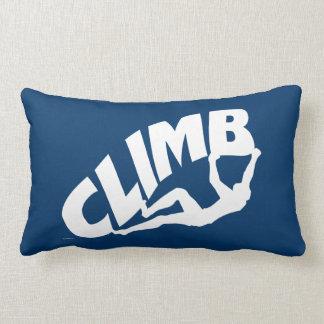 Rock Climbing Bouldering Throw Pillow