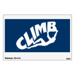 Rock Climbing, Bouldering Wall Decal